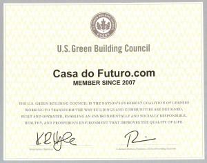Certificado Leed_Membership CDF 2007